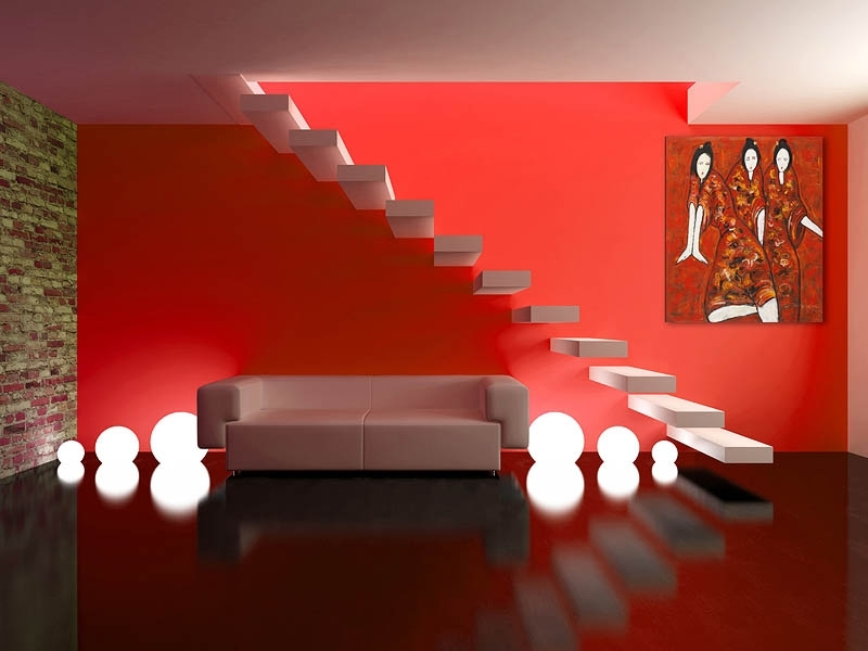 Parete Rossa Camera Da Letto. Finest La Parete Opposta ...