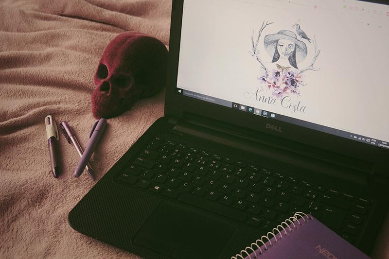 layout blog arte personalizada