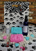 line of Pet grooming comes together in one sharp looking gift kit with dog grooming products and the option to add a cute key ring or zipper pull for owner!