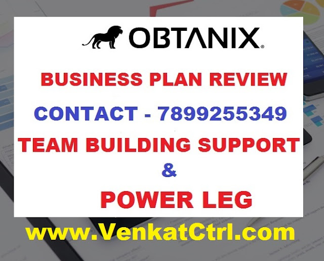 OBTANIX Business Compensation Plan