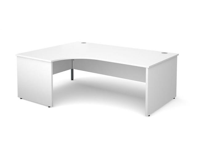best buying cheap white office desk UK for sale online