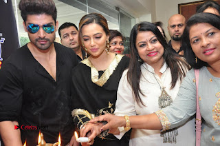 Bollywood Actress Sana Khan Launches Aakrithi Exibition  0292.JPG