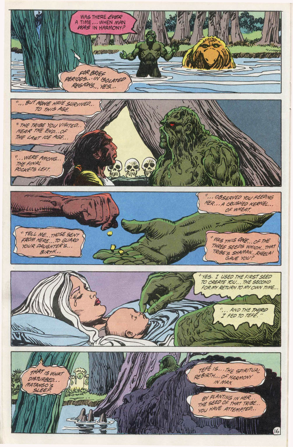 Swamp Thing (1982) Issue #100 #108 - English 17