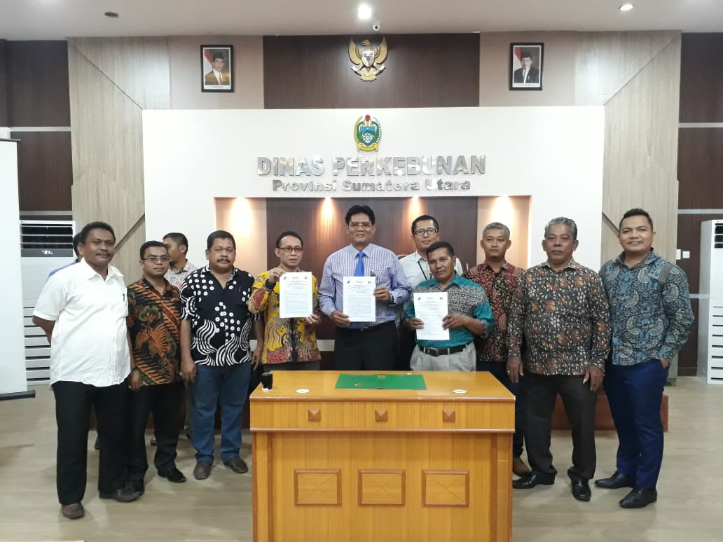 Foto bersama usai penandatanganan kerjasama