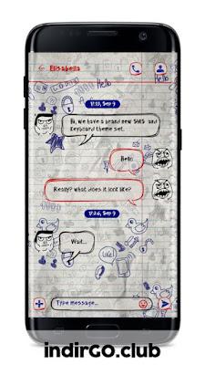 go sms premium apk