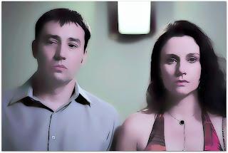 Charlie Severo e Fernanda Carvalho Leite, em Lobos (2012)