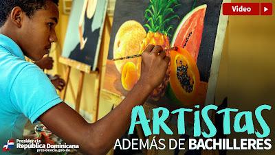 VIDEO: Artistas además de bachilleres