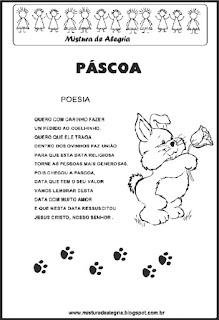 Poesia sobre a páscoa