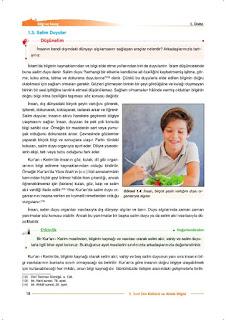 9. Sınıf Din Kültürü Ders Kitabı Cevapları Nev Yayınları Sayfa 18