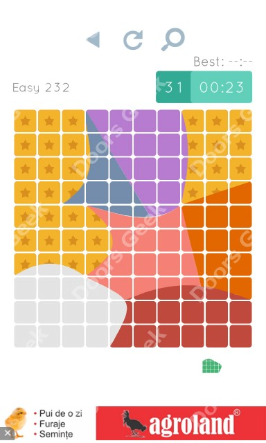 Cheats, Walkthrough for Blocks and Shapes Level 232