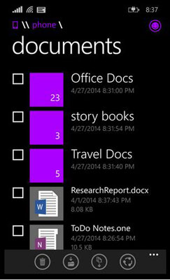 Windows Phone 8.1 akan Di-update, Hadirkan File Manager
