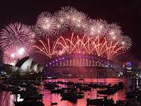 Kemeriahan Perayaan Tahun Baru di Berbagai Negara di Dunia