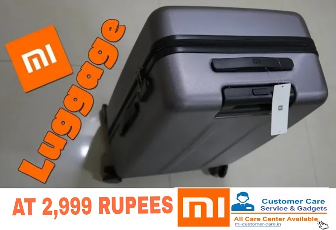 What is the price of MI suitcase in India?