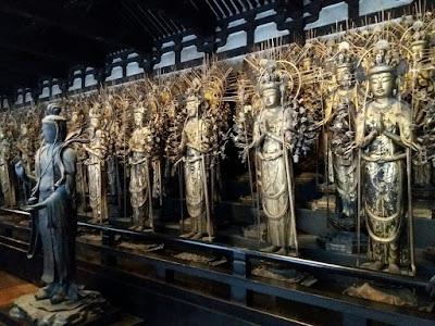 Estatuas de Kannon, Templo Sanjusangendo