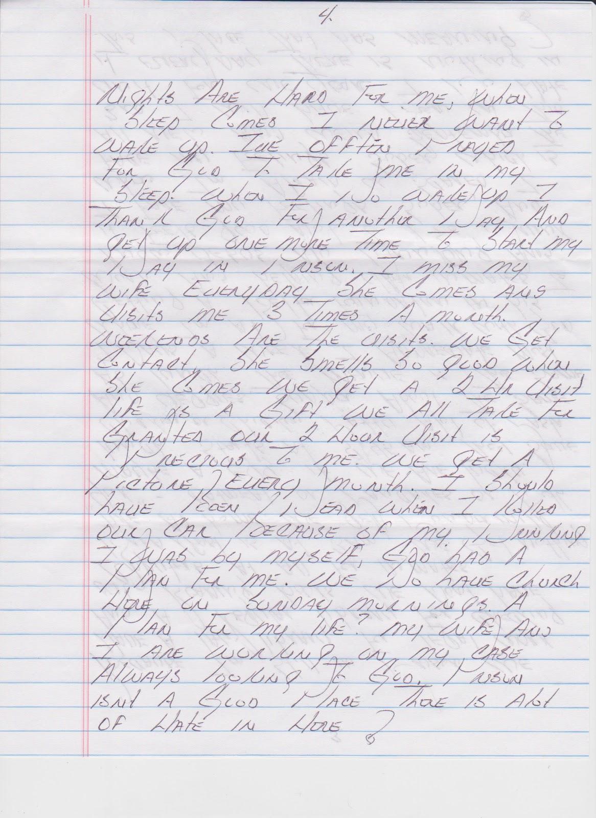 Life in prison essay