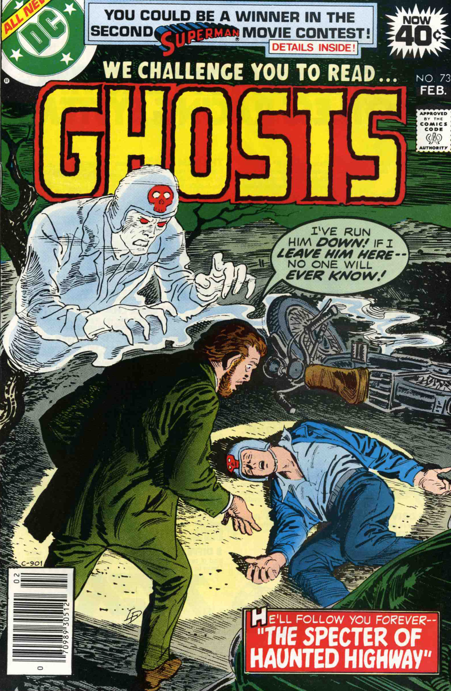 Read online Ghosts comic -  Issue #73 - 1