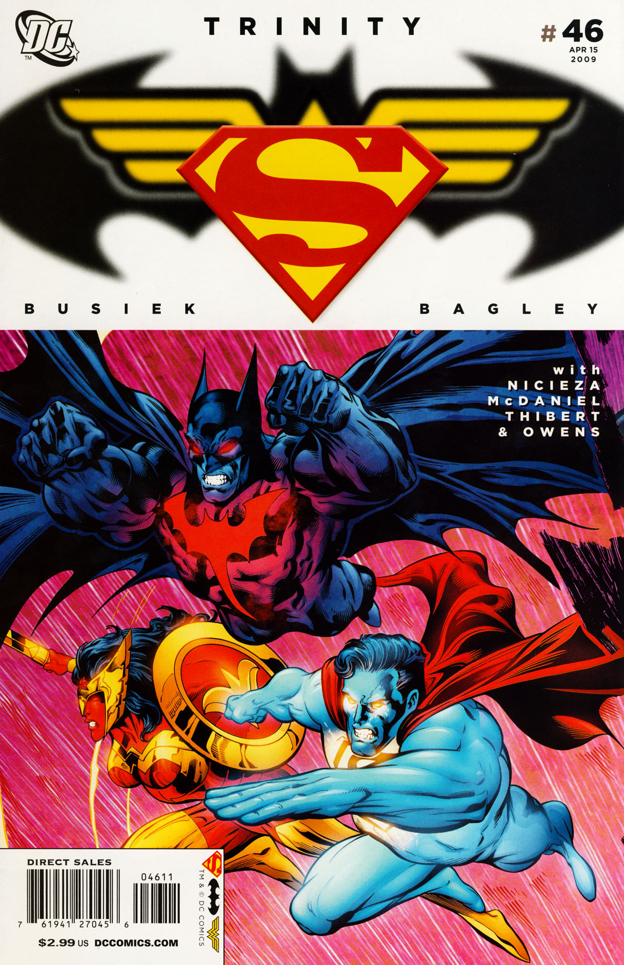 Read online Trinity (2008) comic -  Issue #46 - 1