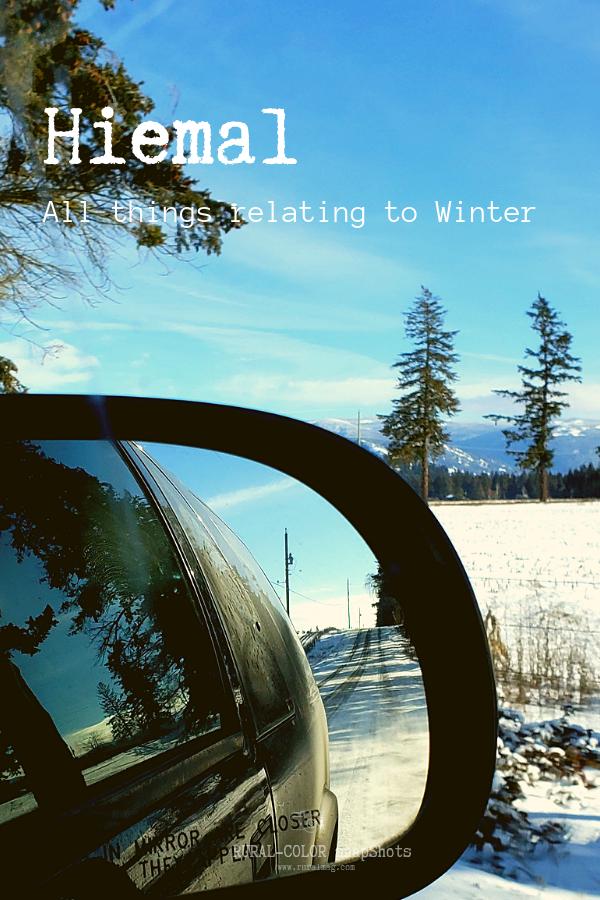 snowy landscape reflected in a truck mirror from www.ruralmag.com