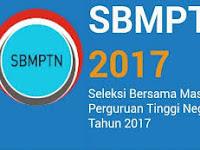 Cek Disini...Hasil Pengumuman SBMPTN 2017!