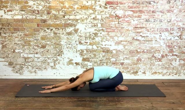 Moj omiljeni joga položaj