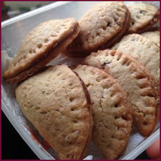 biscotti ripieni ai marroni