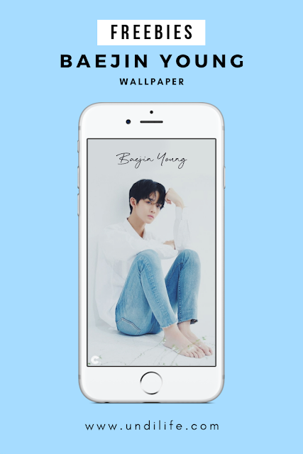 Freebies Baejin Young iPhone Wallpaper