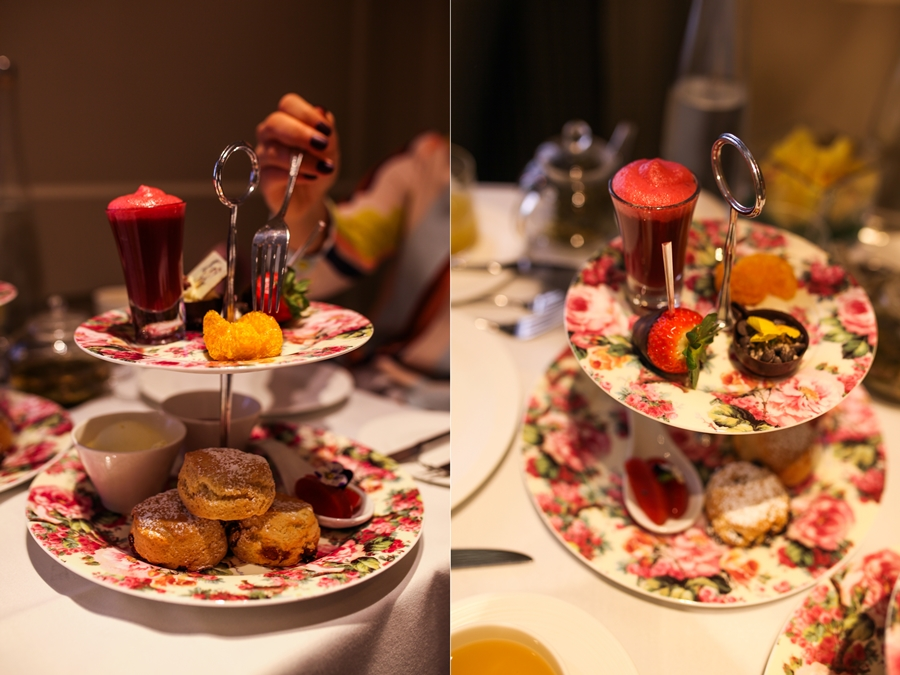 AFTERNOON TEA ENGLISH LONDON TAJ HOTEL