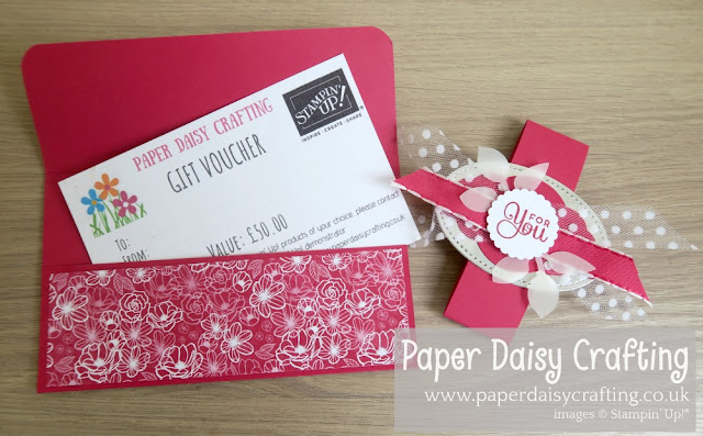 All my love gift voucher wallet Stampin Up