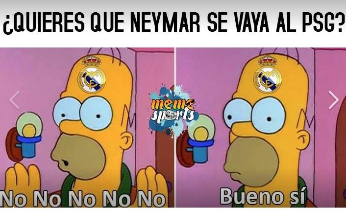 ¿Te gustaría ver a Neymar en el PSG?