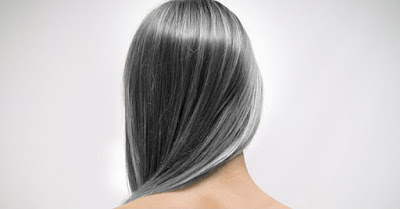 cheveux gris