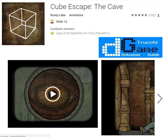 Soluzioni Cube Escape: The Cave di tutti i livelli | Walkthrough guide