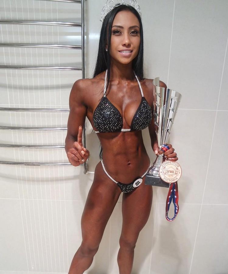 Australian Bikini Fitness athlete Melissa Carver