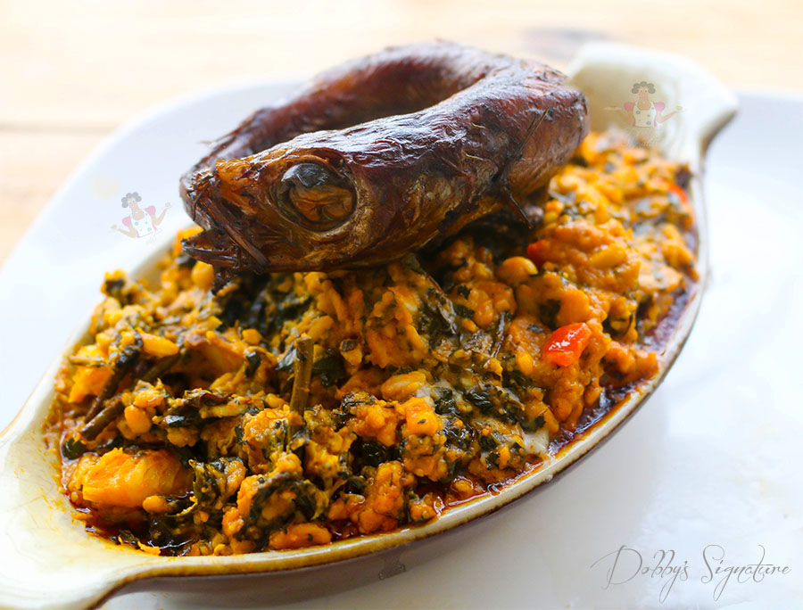 Ukwa porridge