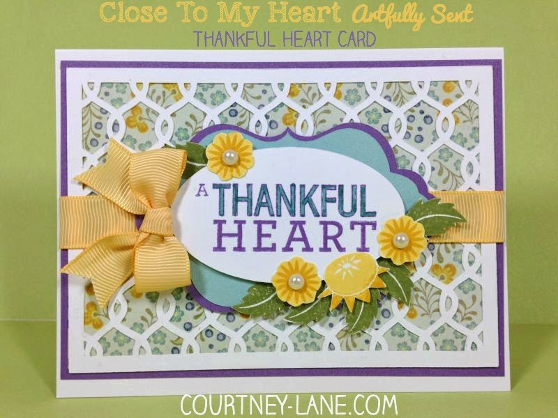 thankful heart card