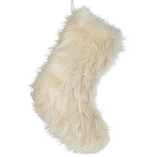 Faux Fur Christmas Stocking, Christmas Decoration Selfridges
