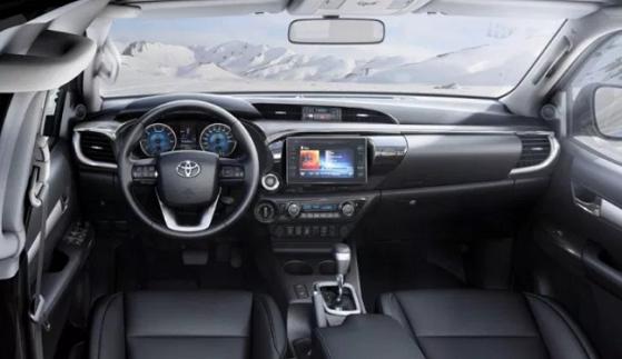 Toyota Hilux 2020 Interior