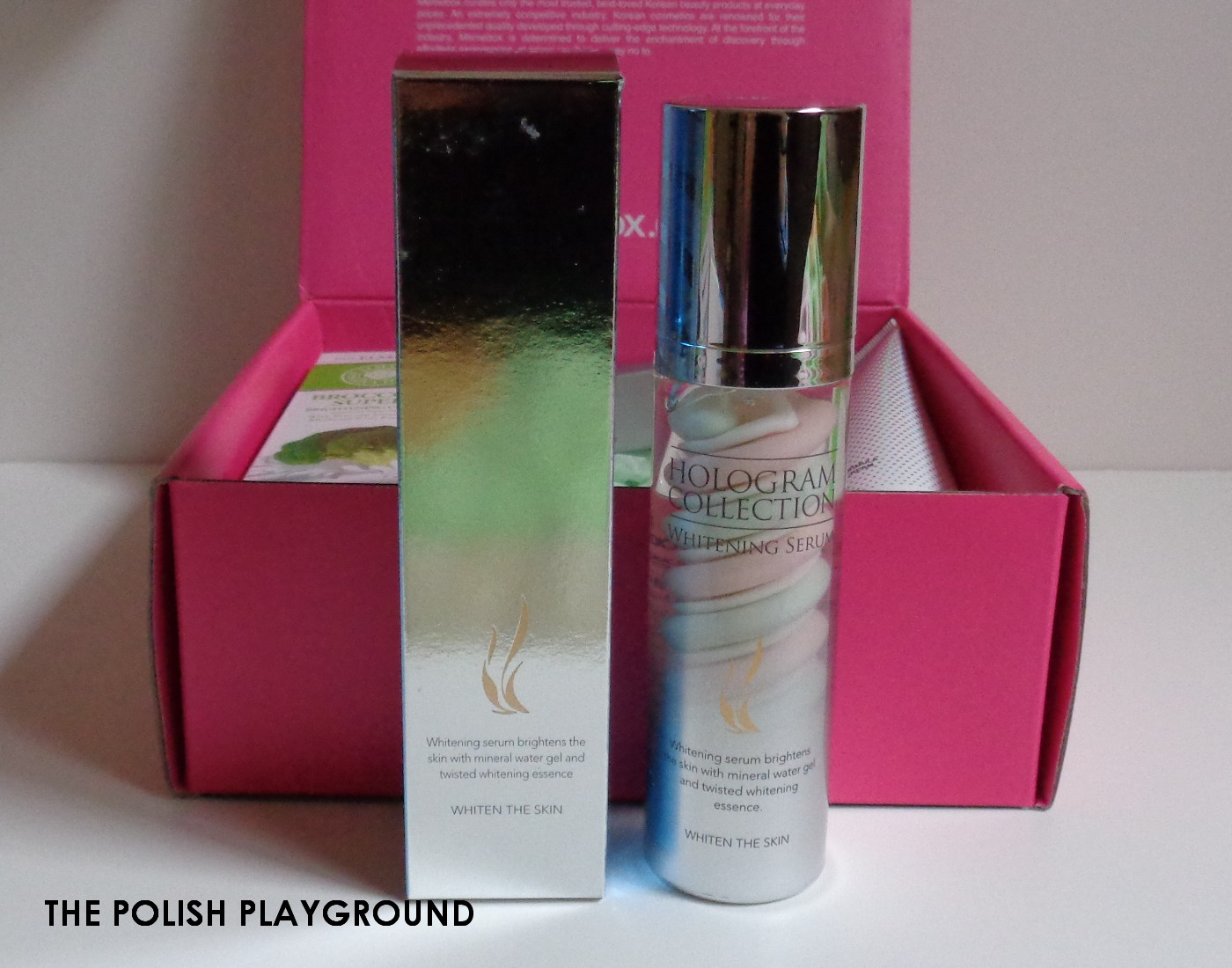 Memebox Special #73 Brighten & Correct Unboxing - AHC Hologram Collection Whitening Serum