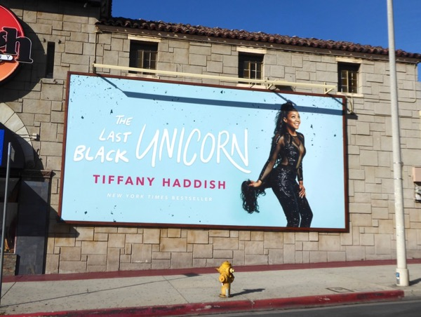 Tiffany Haddish Last Black Unicorn billboard
