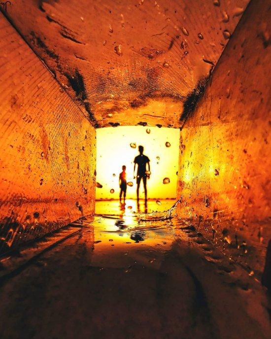 Mitesh Patil fotografia surreal sem photoshop truques perspectiva luz sombras silhuetas