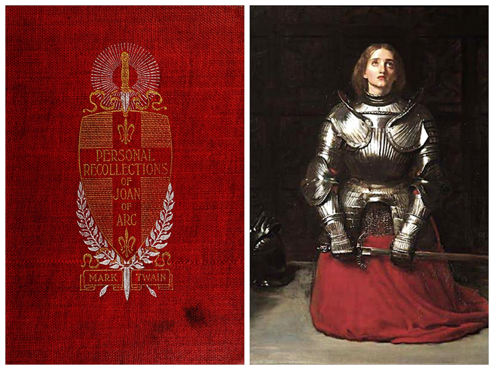 "Delicious Reads: ""Personal Recollections of Joan of Arc"" {by Mark Twain}  Book Club Ideas"