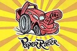 Kağıt Yarışçı - Paper Racer