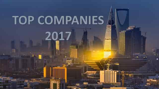 TOP COMPANIES IN SAUDI FOR 2017