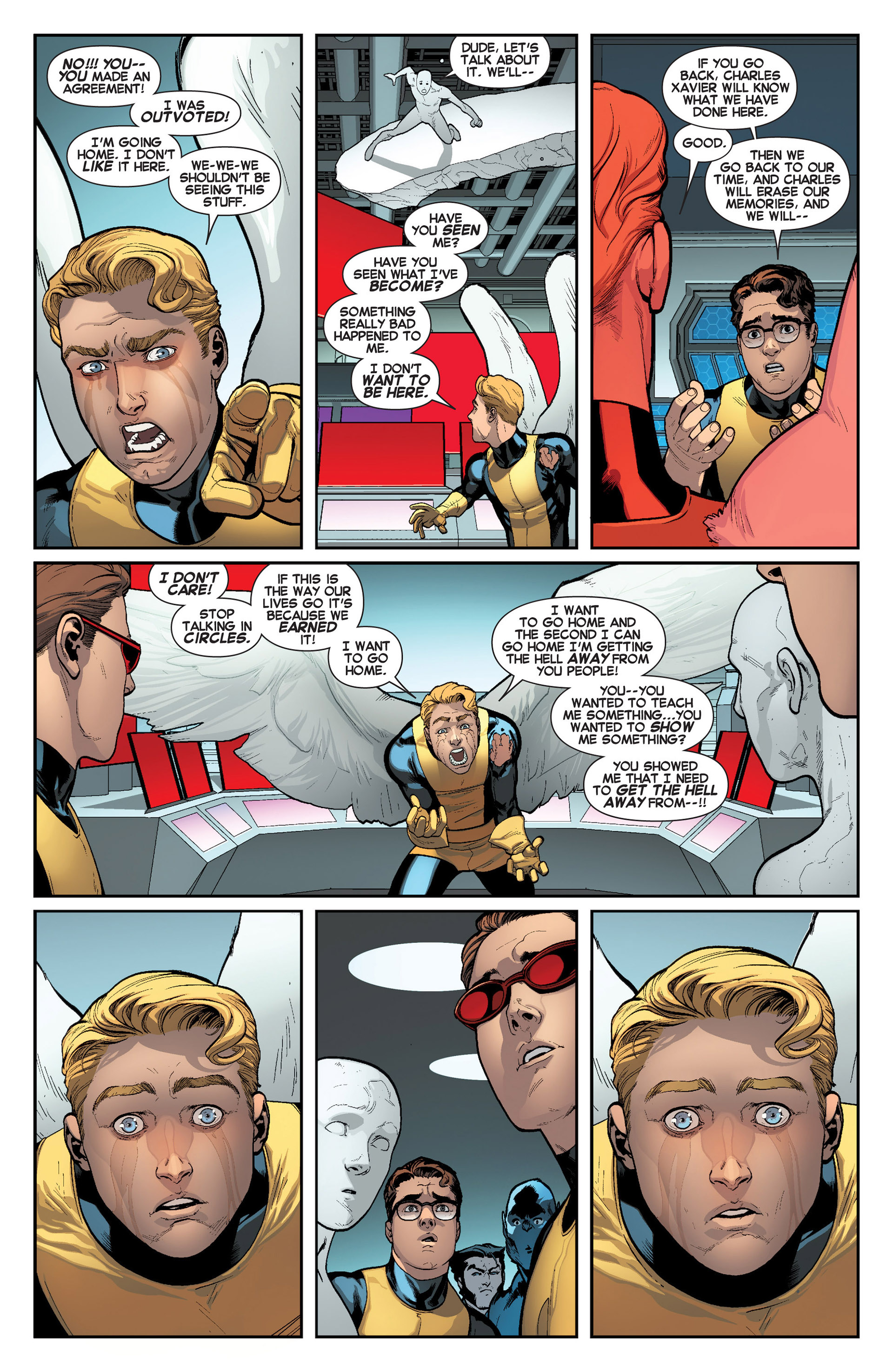 Read online All-New X-Men (2013) comic -  Issue #8 - 19