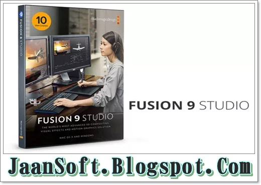 Blackmagic Fusion Studio 9 Nuke Tutorial Download FREE