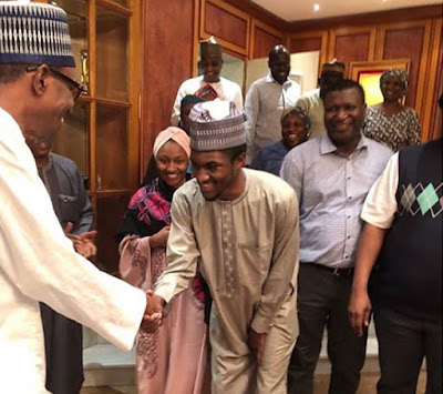 Photo: Yusuf Buhari Returns From Medical Trip
