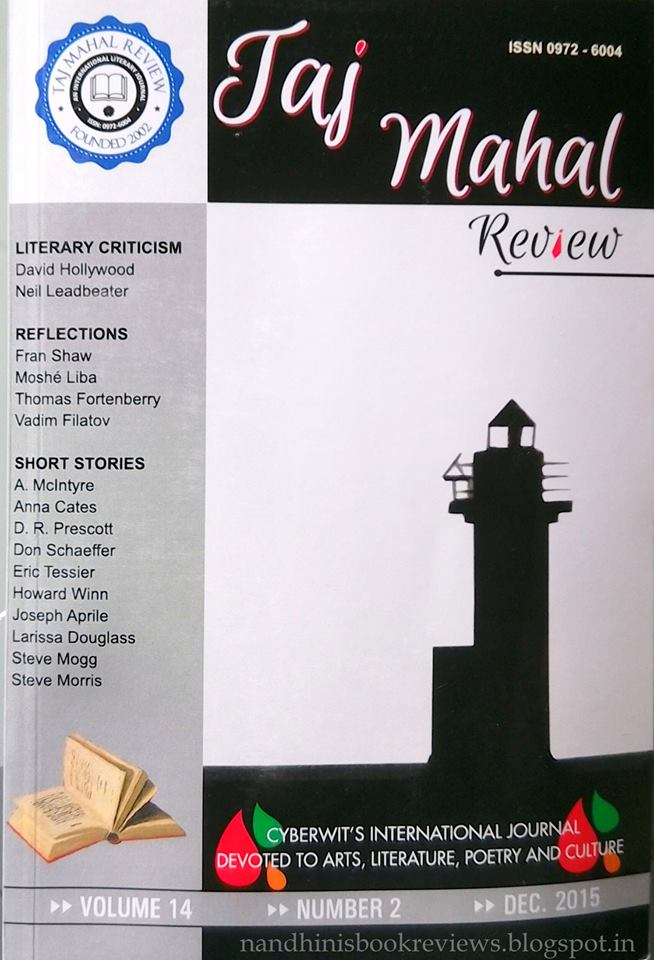 Nandhini's Book Reviews published in an International review Journal