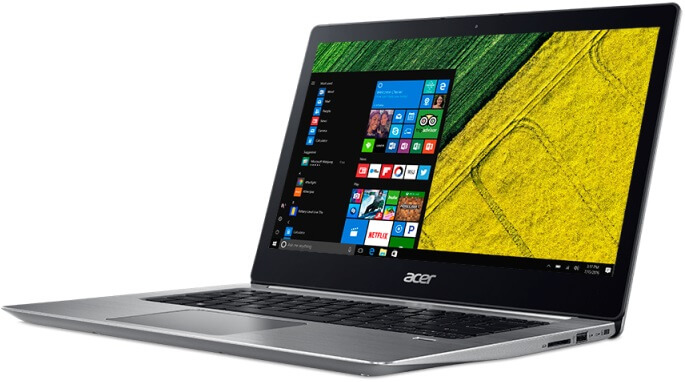 Acer Unveils Swift 3, Swift 1 Notebooks