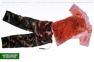 Uniform of dead Croat soldier Marinko Gagro killed in the Bosnian war