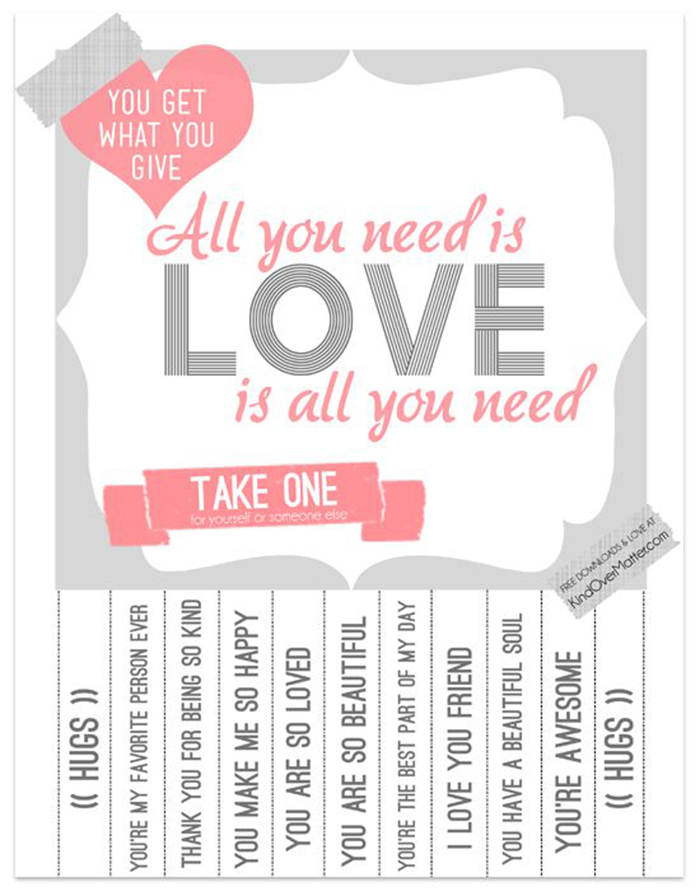 50 freebies for valentine 39 s day ohoh blog for Free printable funny posters