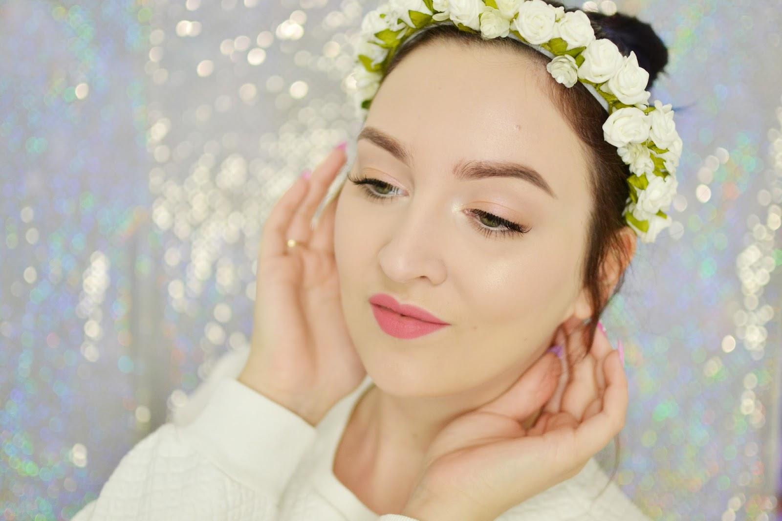 makijaż makeup wiosna tutorial